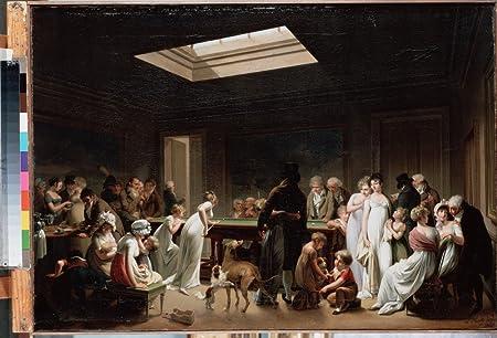 El Museo de salida – Boilly, Louis-Leopold – un juego de billar – Póster en línea comprar de impresión (40 x 50 cm): Amazon.es: Hogar