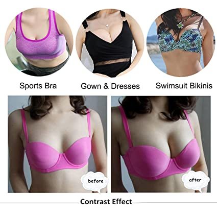 572b647d76 Nimiah Bra Pads Inserts Pad Sports Bras for Women 3 Colors Beige Black  White 3 Pair at Amazon Women s Clothing store