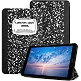2016 Samsung Tab A 10.1 Case -Samsung 10.1 Tablet Case,Leafbook Slim Lightweight Smart Shell Samsung t580 Case for Samsung Galaxy Tab A 10.1 Case (SM-T580 / SM-T585), Composition Book