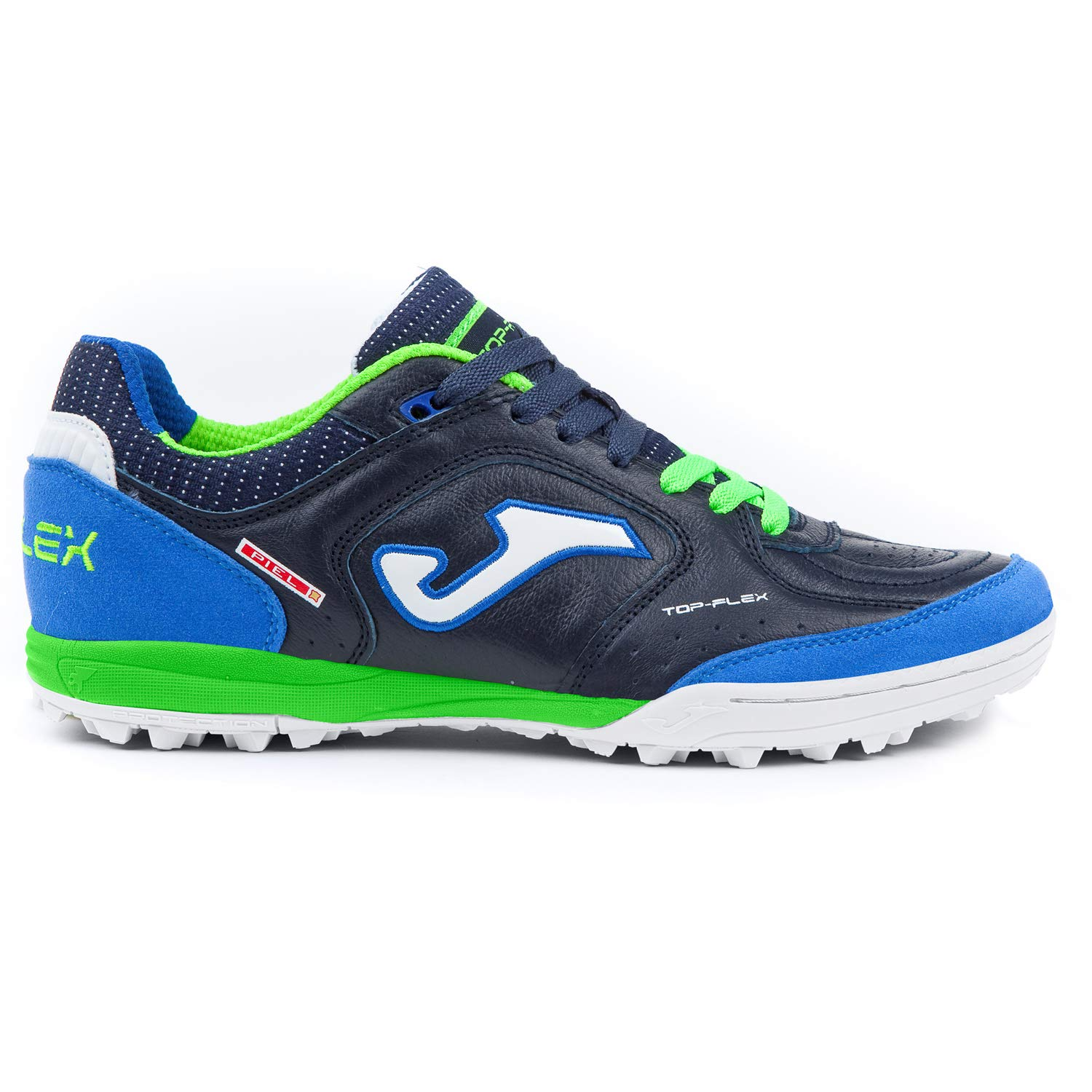 Joma Schuhe Soccer Top Flex Turf Tops_803 Navy Calcetto Scarpa