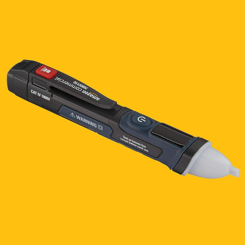 Cercafase senza contatto con schermo LCD per lavoro Commercial a doppio stampo con torcia