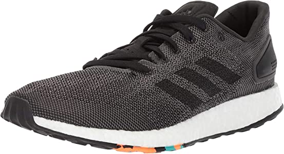 adidas Mens Pureboost DPR Running Shoe, Black/Grey, 6 M US: Amazon.es: Zapatos y complementos
