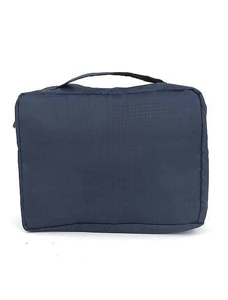 Amazon.com: Limpieza en seco de artículos de tocador de viaje Cosmética Wash afeitar caso de la Bolsa Azul Oscuro: Health & Personal Care