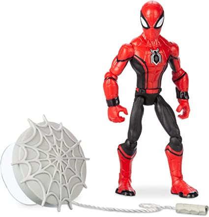 Disney Store Marvel Spider-Man 6 Figurine Play Set NEW