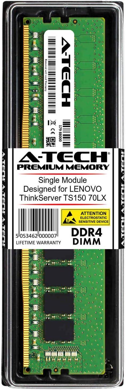 A-Tech 16GB RAM for Lenovo ThinkServer TS150 70LX DDR4 2133 DIMM PC4-17000 1.2V 288-Pin Memory Upgrade Module