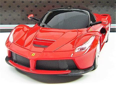 RASTAR Ferrari LaFerrari Radio Remote Control Sport Racing Car RC 1 24  Scale,Red
