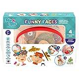 Picnmix Lustige Gesichter Lernspiele für Kinder ab 3 Jahren bis 7 Jahren Spielzeuge Spiele Kleinkind