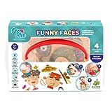 Picnmix Facce Divertenti Giocattoli educativi per bambini dai 3 ai 7 anni Giochi educativi