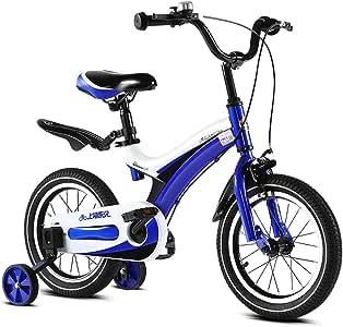 AIDELAI Bicicleta para niños y niñas, Ruedas de Entrenamiento para ...
