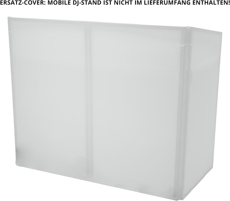 Omnitronic 32000018 - Carcasa de Repuesto para Mobile DJ Stand, Color Blanco: Amazon.es: Electrónica