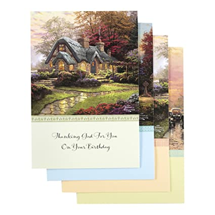 Amazon Dayspring Thomas Kinkade Inspirational Boxed Cards