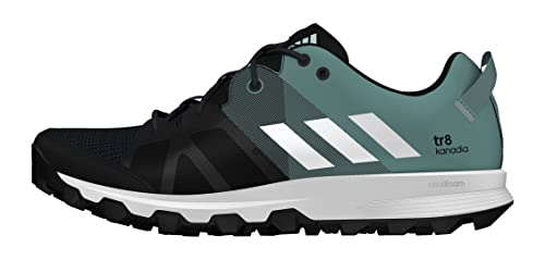 adidas Kanadia 8 Tr, Women's Competition Running Shoes, Black (Core Black/FTWR  White/Vapour Steel), 9.5 UK (44 EU): Amazon.co.uk: Shoes & Bags