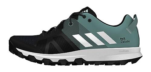 adidas Kanadia 8 TR W, Zapatillas de Running Unisex Adulto, Negro (Negbas/