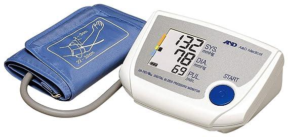 A&D UA-767PLUS - Tensiómetro de brazo eléctrico, color blanco: Amazon.es: Salud y cuidado personal