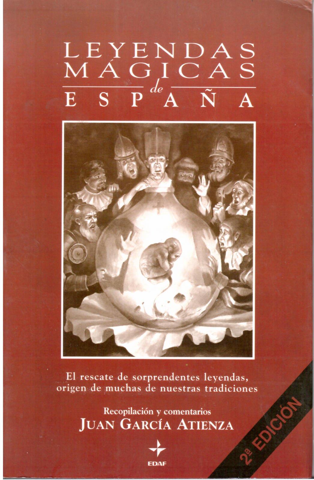 Leyendas magicas de España (Biblioteca De Psicologia): Amazon.es: Juan Garcia Atienza: Libros