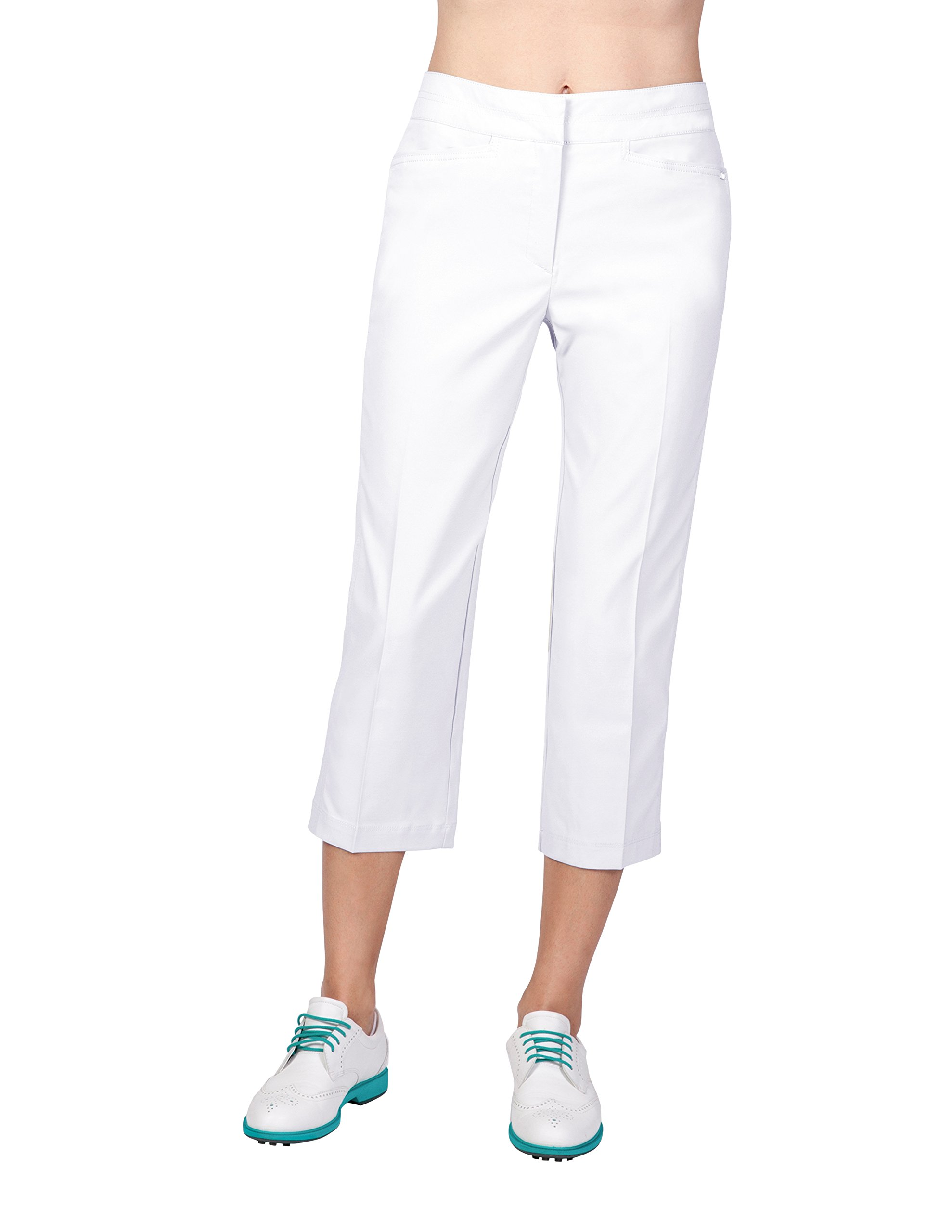 Tail Activewear Women's Classic Capri 4 White by Tail (Image #1)