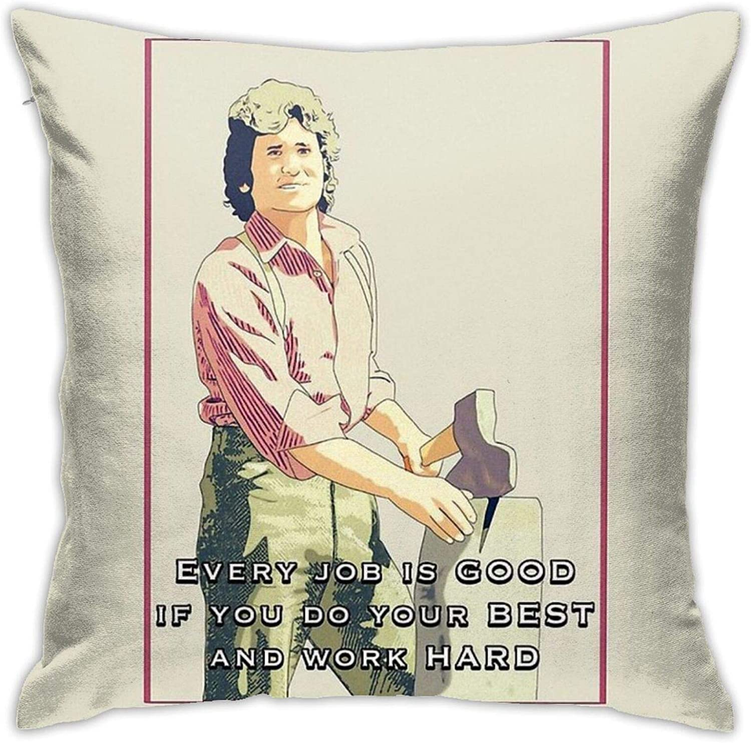Ouskfh Charles Ingalls Quote Little House On The Prairie Bedroom Couch Sofa Square Pillow Cases Home Decor Throw Pillow Covers 18x18 inch