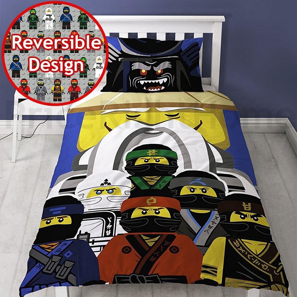 The Lego Ninjago Movie 'Guru' Single Panel Duvet Cover Bed Set