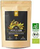 Precio de lanzamiento! 500g Premium BIO Psyllium en polvo. Semilla de Plantago Ovata orgánica certificada. 100% Psyllium indio de alta calidad. Vegano. sin aditivos - Suministro de 1 a 3 meses