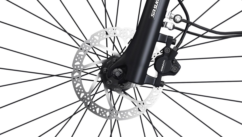 LEGEND EBIKES Milano 36V14Ah Bicicleta Eléctrica Plegable, Unisex Adulto, Onyx Black, Talla Única: Amazon.es: Deportes y aire libre