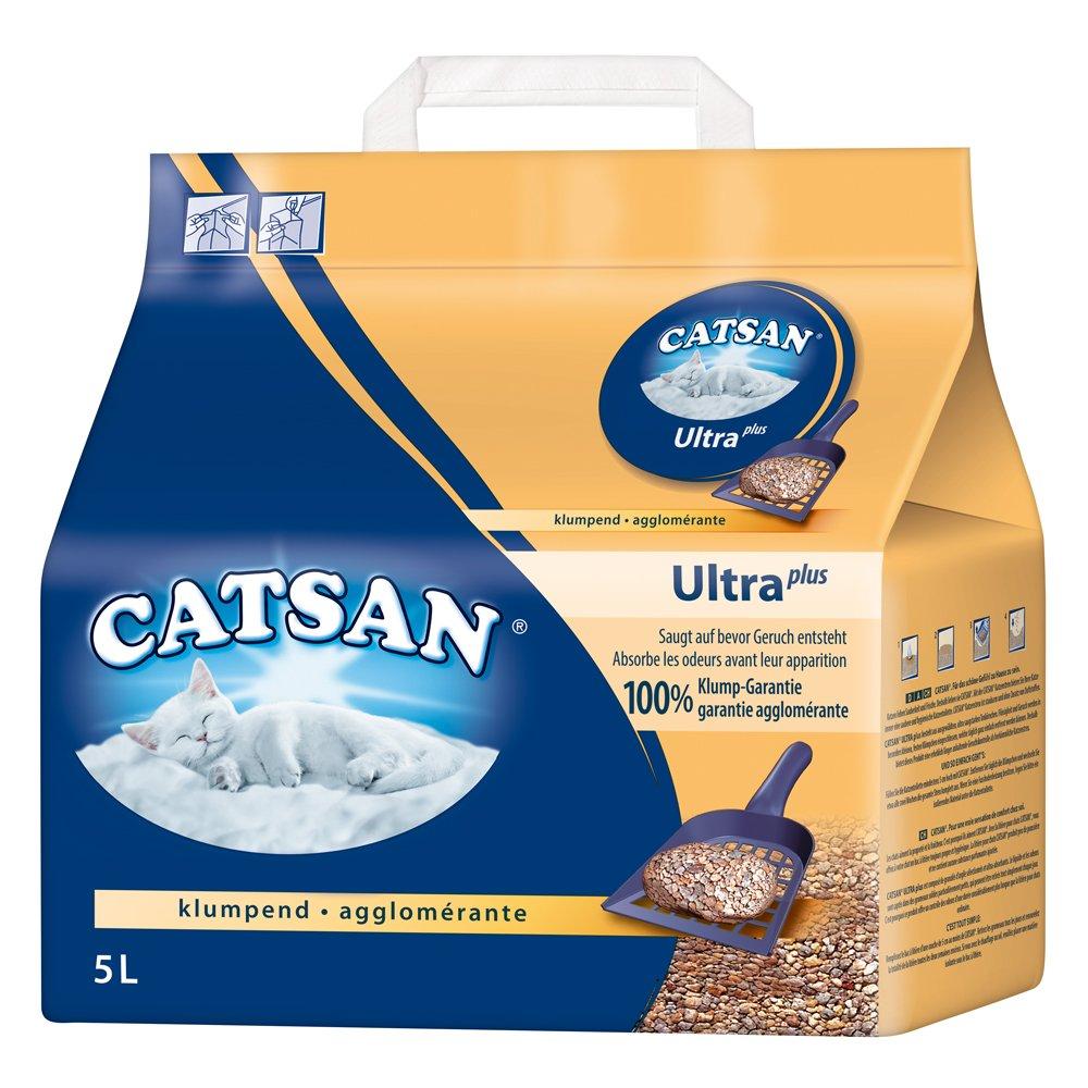 Litière pour chat ultra agglomérante Catsan - Ultra absorbante - En granulés d'argile - Lot de 3 Mars Petcare UK 105657