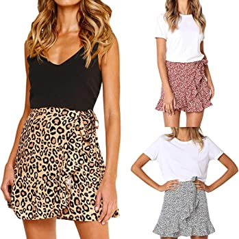 Falda para Mujer Vintage ImpresióN Plisada Vestido De CóCtel De ...