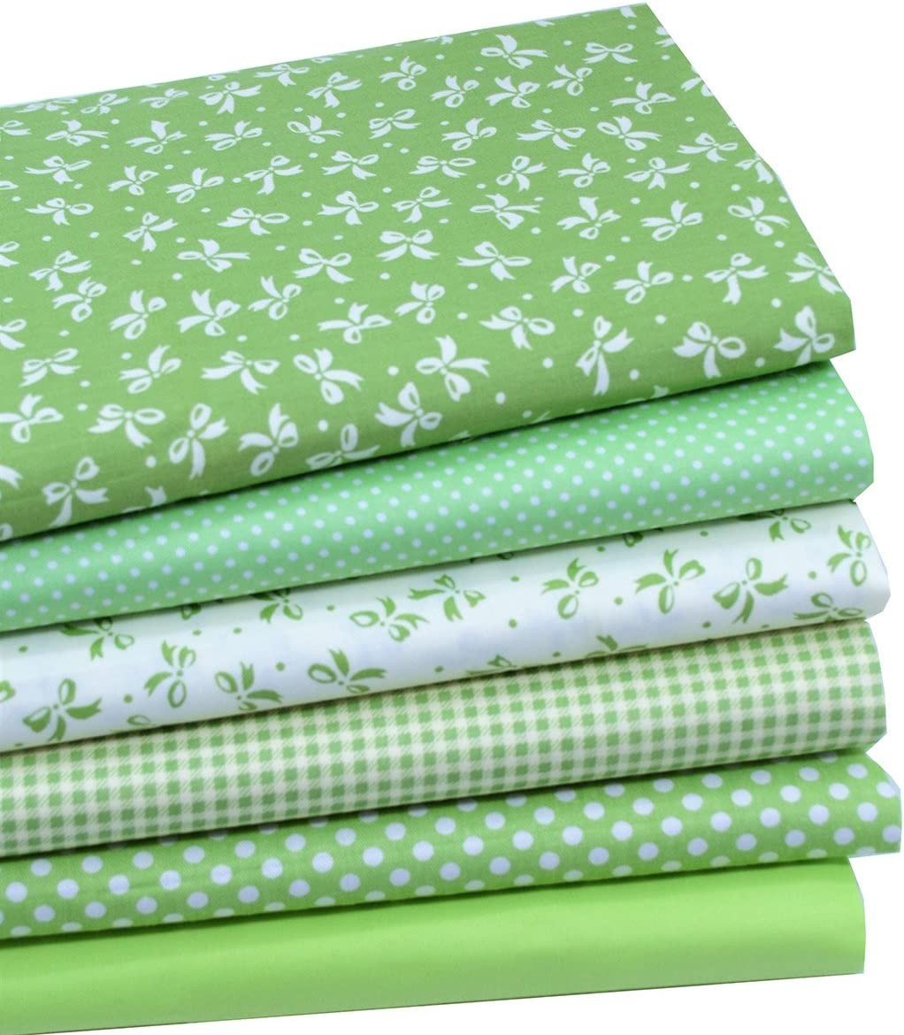 iNee Green Fat Quarters Fabric Bundles