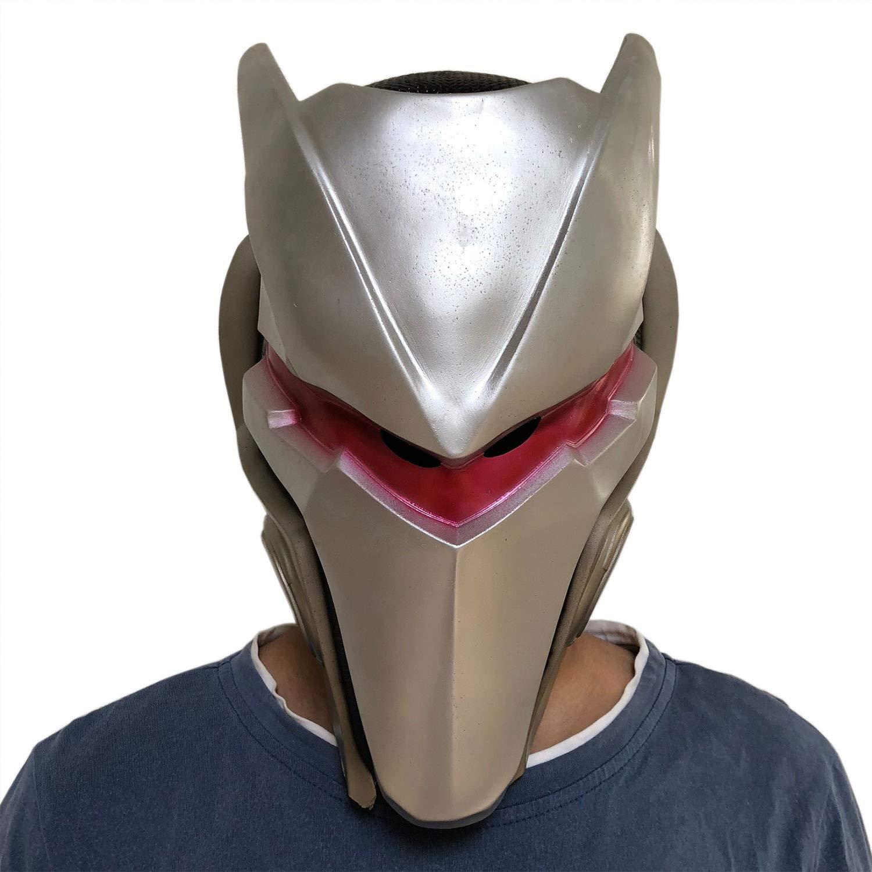 yacn Fortnite Omega máscara de la Piel para Hombres Traje de Plata Traje máscara de Juego Cosplay: Amazon.es: Juguetes y juegos