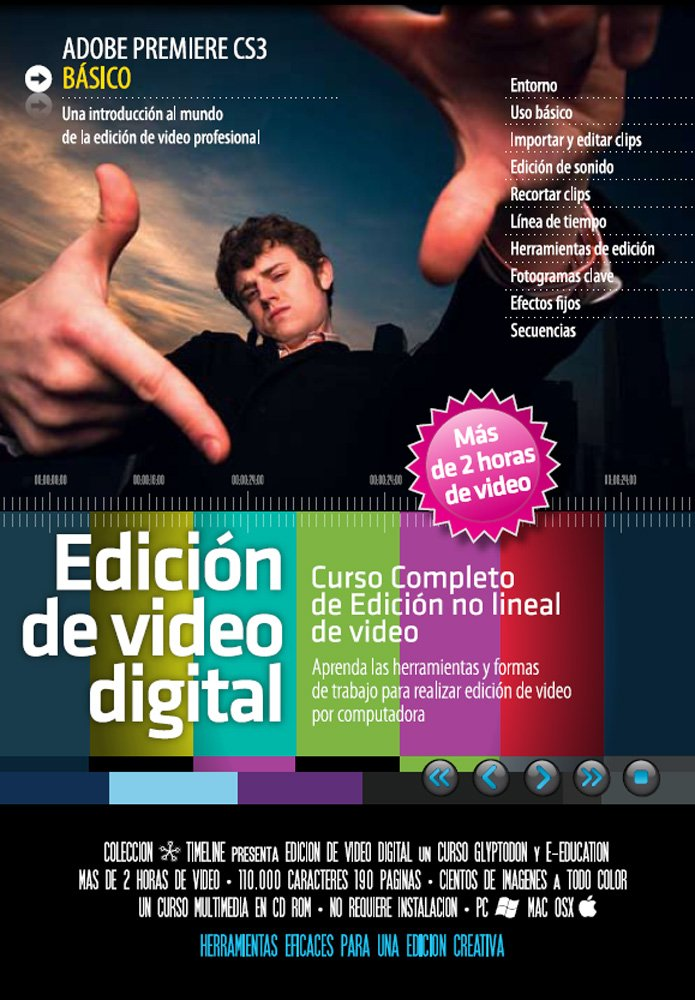 Download Edicion de Video Digital Adobe Premiere CS3. Basico. (Spanish Edition) PDF