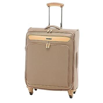 2f3c7cdd99 Trolley Samsonite Middle | 4 Wheels | Line Hommage Club | G48002-ecru:  Amazon.co.uk: Luggage