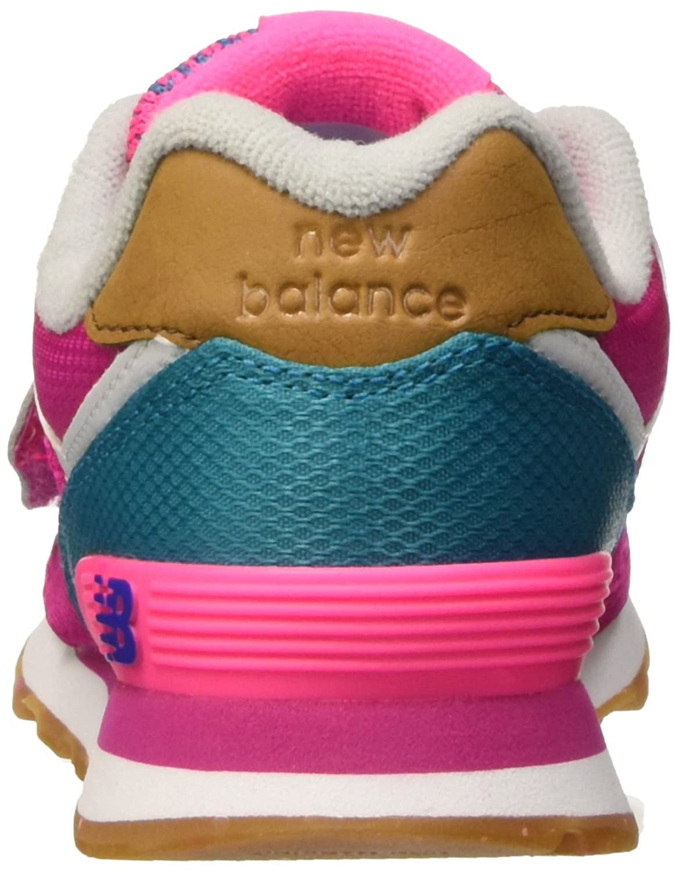 New Balance NBKV574T4P, Chaussures de Marche Pour Bébé Bébes, Rosa (Pink Bleue), 30 1/2 EU