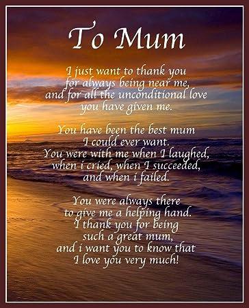 Liebes Mum Gedicht