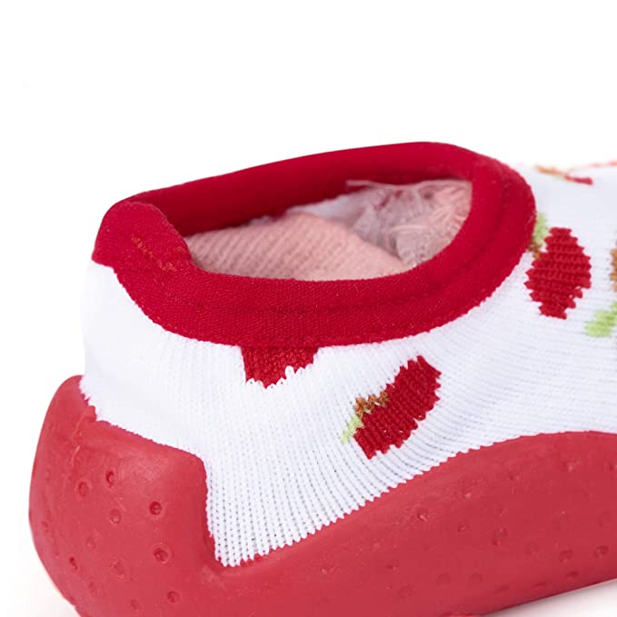 a8f055818d iEndyCn Baby Socks With Rubber Soles Newborn Non-slip Breathable Children  Toddler Shoes Socks
