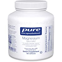 Pure Encapsulations - Magnesium (Glycinate) - Supports Enzymatic and Physiological...