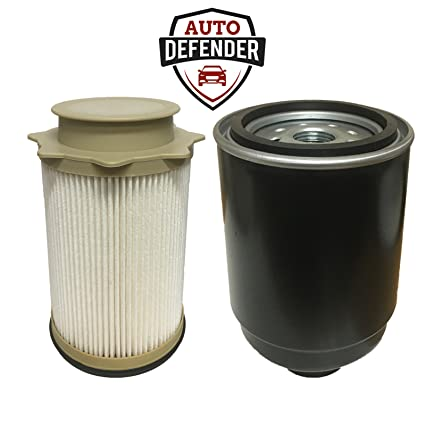 amazon com dodge 6 7l cummins fuel filter water separator set foramazon com dodge 6 7l cummins fuel filter water separator set for \u002713 \u002718 ram 2500 3500 4500 5500 diesel trucks automotive