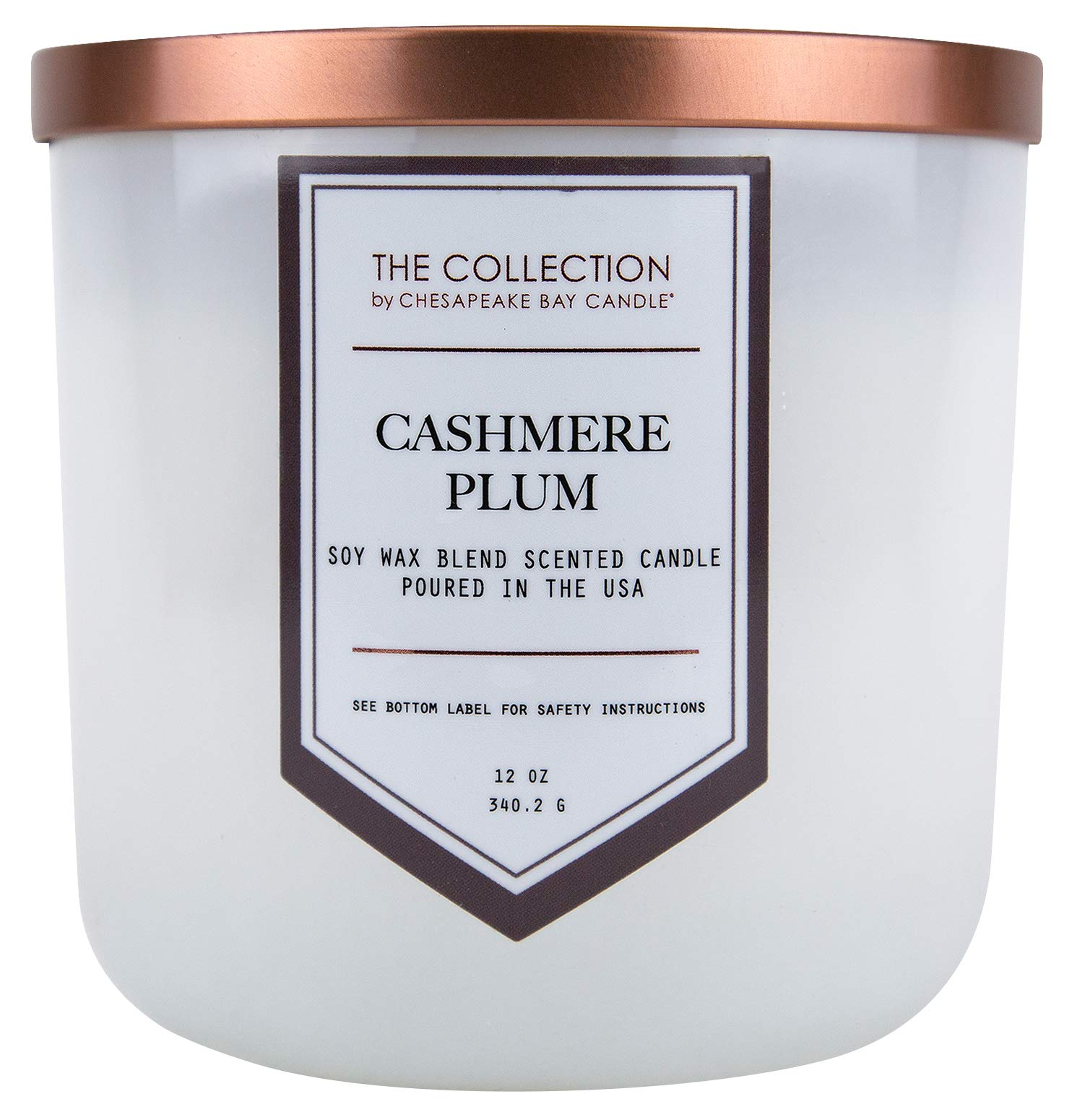 Chesapeake Bay Candle The Collection Two-Wick Scented Candle, Cashmere Plum