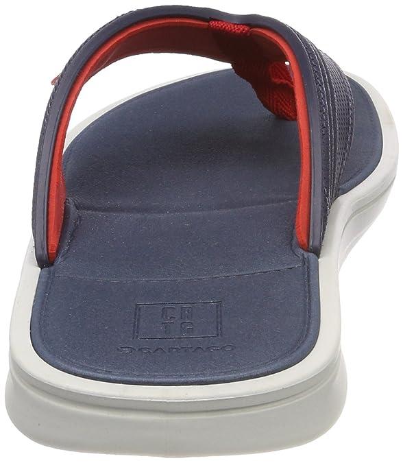 Cartago 11129-00, Peep Toe Uomo, Multicolore (Multicolore (Grey/Blue/Red 8374)), 44 EU