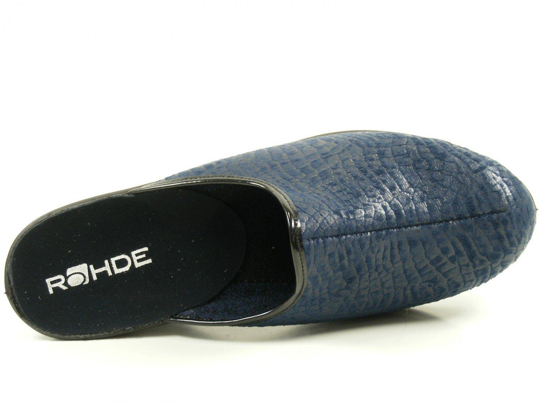 Rohde Damen 2372 Pantoffeln, Blau, 42 EU