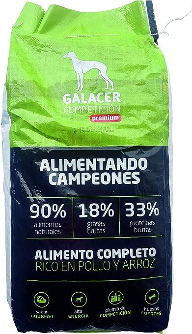 GALACER Pienso para Perros Premium Competicion 18Kg: Amazon ...