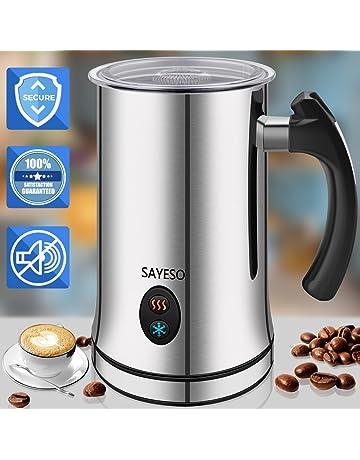 Espumador de leche, Espumador de leche eléctrico con funcionalidad caliente o fría, Espumador y