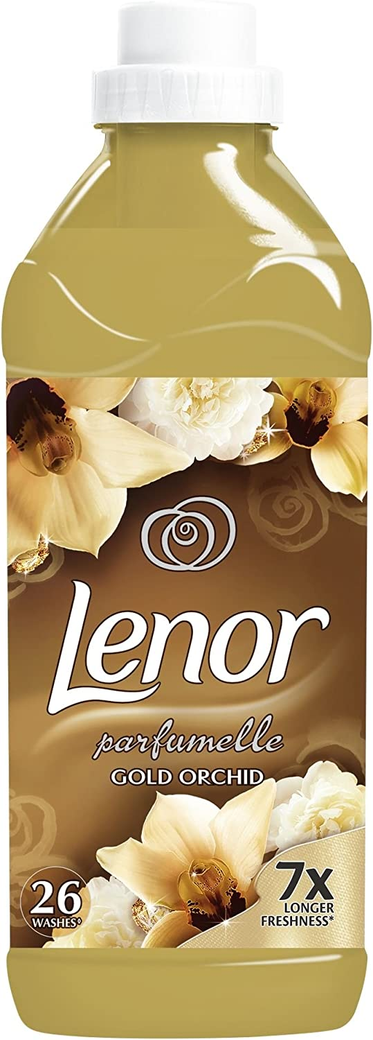 Lenor Super Concentrate Liquid Laundry Fabric Softener Conditioner Gold Orchid 780ml (26 Loads)