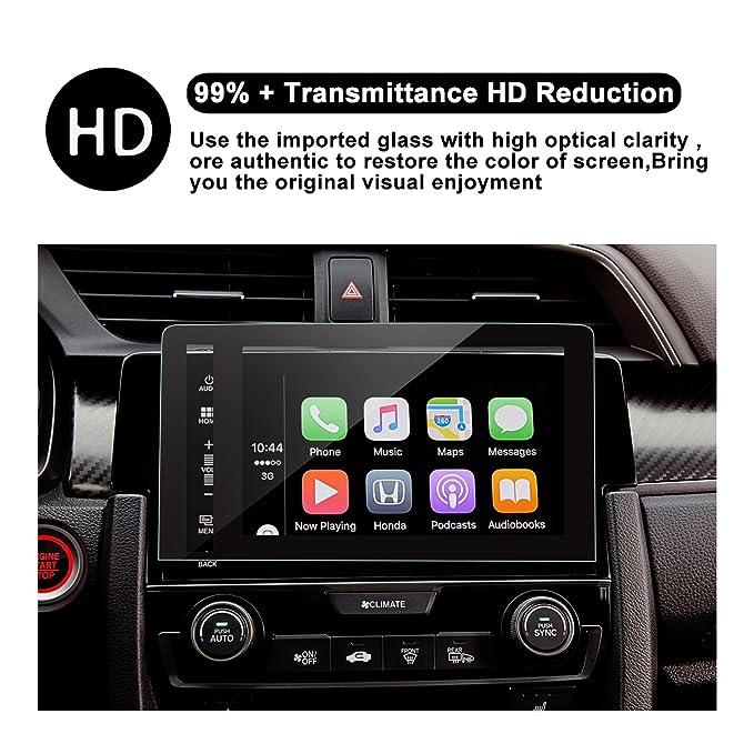Protector de pantalla de vidrio templado de 7 pulgadas para el sistema de navegación de (2016) (2017) Honda Civic Type R IV, película protectora, ...