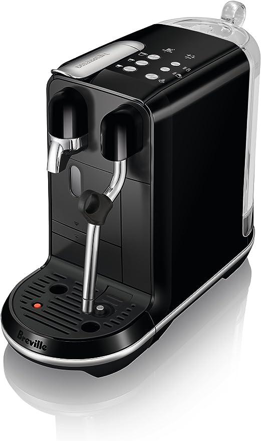 Breville-Nespresso USA BNE500BKS1BUS1 Breville Nespresso Creatista Uno Single Serve Espresso Machine, Black Sesame