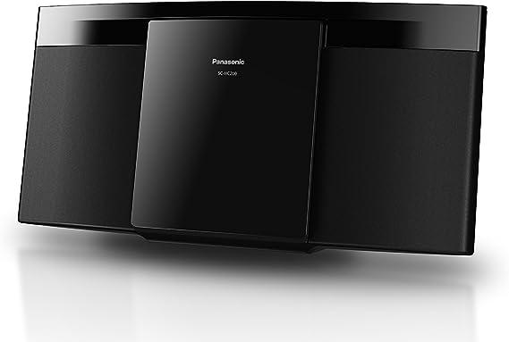 Panasonic SC-HC200EG-K Home Audio Micro System 20W - Microcadena Compacta (1 Discos, 20 W, De 1 vía, FM, Bluetooth, Amplificador Digital Dos Canales, Hi Fi, Sonido Nítido), Color Negro: BLOCK: Amazon.es: Electrónica