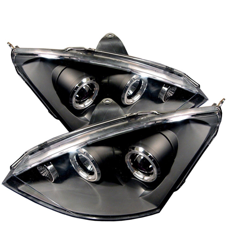 Amazon com spyder auto ford focus black halogen projector headlight automotive