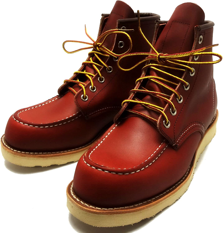 REDWING レッドウィング ブーツ #8875 CLASSIC WORK BOOTS アイリッシュセッター クラシック ワークブーツ 6インチ モックトゥ ORO-RUSSET PORTAGE(RED WING) B00BFUCVJW
