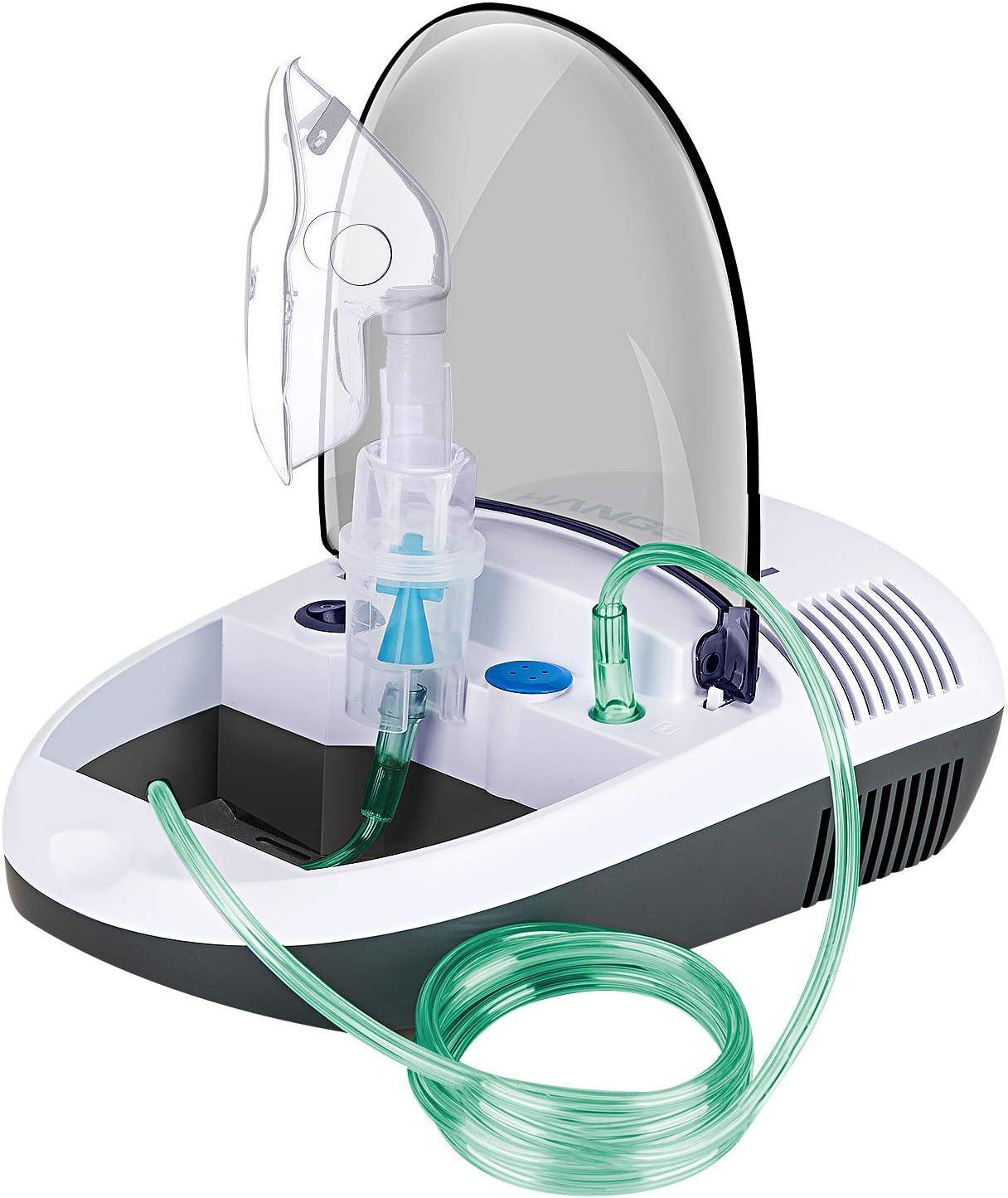 Hangsun Inhalador Nebulizador Electrico CN680 Compresor Bebe Adulto Para Inhalación De Medicamentos Líquidos