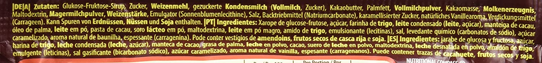 Nestlé LION Chocolate y Caramelo - Barritas de cereales, chocolate y caramelo 24x42g: Amazon.es: Alimentación y bebidas