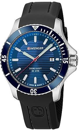 869a63cfd130 Wenger Seaforce relojes hombre 01.0641.119  Wenger  Amazon.es  Relojes