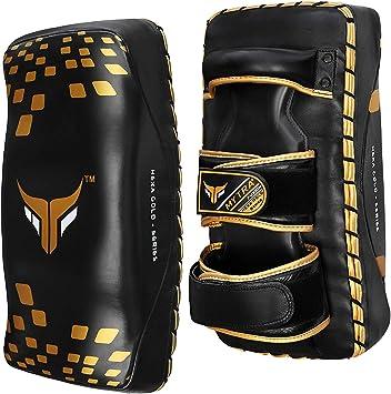Muay Thai Kick Shield Kicking Pad MMA Kickboxing Karate TKD Boxing Training Gear